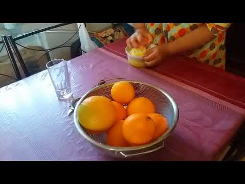 HOW to make a JUICE orange in greece