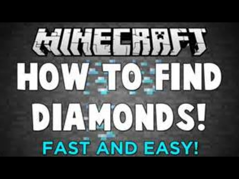 Minecraft | HOW TO FIND DIAMONDS FAST AND EASY NO MODS!