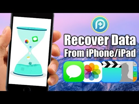Recover deleted or lost Messages/Contacts/Photos/Videos/Notes & More - iPhone/iPad (NO Jailbreak)
