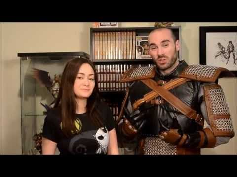 Witcher 3 Geralt of Rivia Cosplay - Stomach Armor and Arm Pads