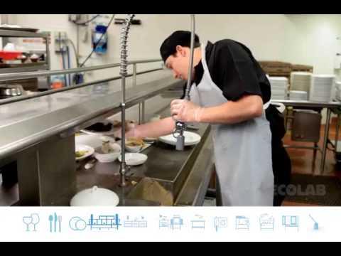 Ecolab Foodservice Procedures Training Video