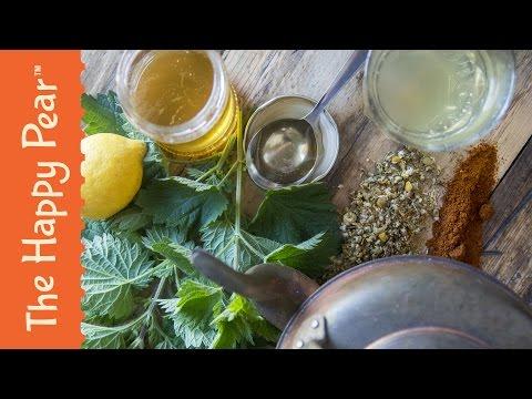 Homemade Hay Fever Remedy - The Happy Pear Recipe