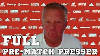 Chris Wilder FULL Pre-Match Press Conference - Burnley v Sheffield United - Premier League
