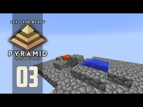 FTB Pyramid Reborn - Ep. 3: REWIND! (Modded Minecraft 1.12)