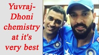 Yuvraj Singh, MS Dhoni record a special video message, watch video | Oneindia News