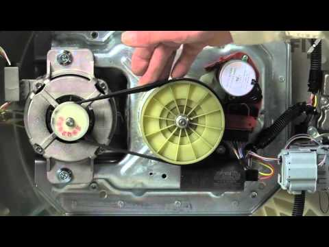 Whirlpool Washer Repair – How to replace the Belt