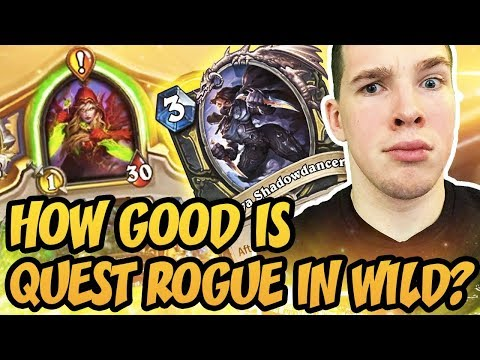 Hearthstone: How Good Is Quest Rogue In Wild?