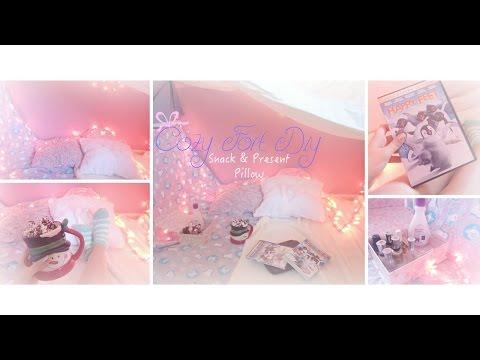 Cozy Fort DIY ♡Snack & Present Pillow♡