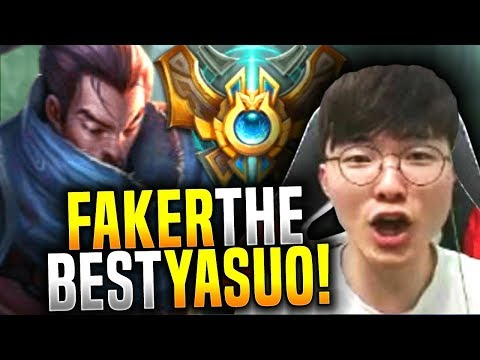 Faker Wants to Be The Yasuo God! - SKT T1 Faker Picks Yasuo Mid! | SKT T1 Replays