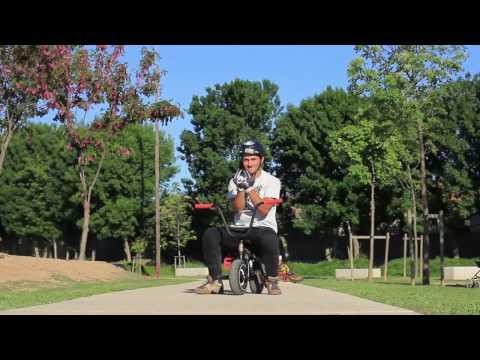 Comment faire hop whip en mini BMX avec Julian Miranda