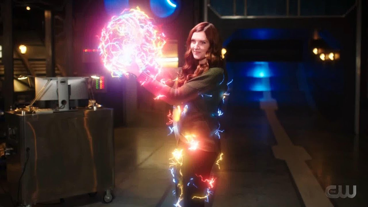 The Flash 7x08 ending the Speed Force attacks Fuerza