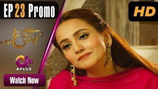 Drama   Is Chand Pe Dagh Nahin - Episode 23 Promo   Aplus ᴴᴰ Dramas   Zarnish Khan, Firdous Jamal