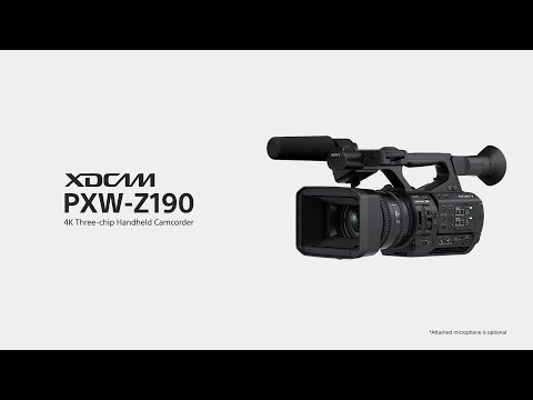 Sony| PXW-Z190 | Introduction Video