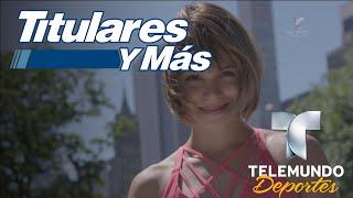 """Conoce a Lorena Abreu de """"Contendientes""""   Titulares y Más   Telemundo Deportes"""