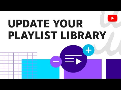 Add and remove playlists from your library