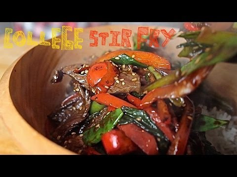 Asian Beef Stir Fry - College Cooking Recipes