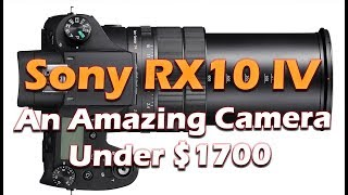 Sony RX10 IV Is Here - Coming October 2017
