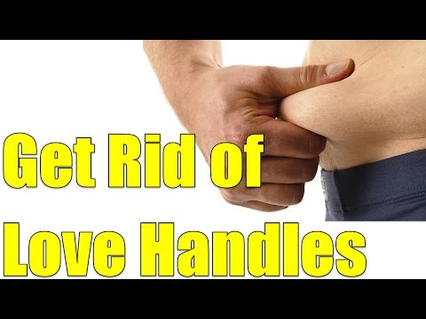 3 Minute Love Handle Workout At Home