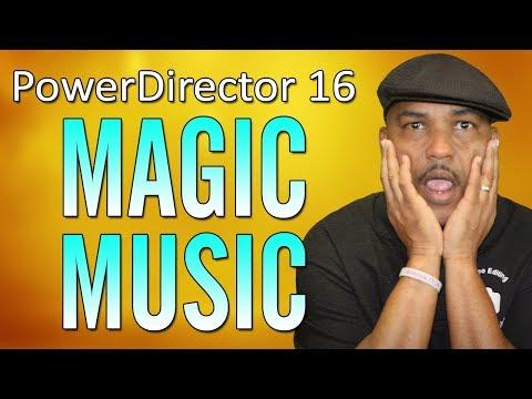 CyberLink PowerDirector 16   Magic Music Tutorial