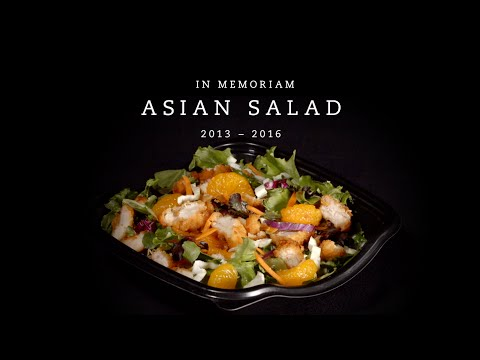 A Farewell to Asian Salad