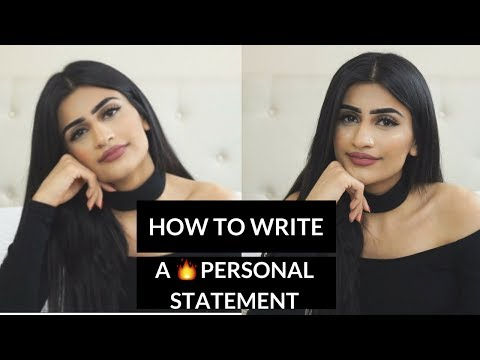 How to Write a Personal Statement for a Top University