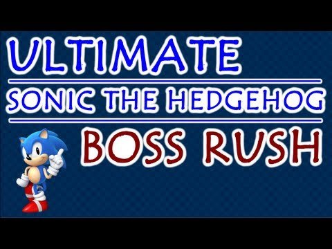 Sonic The Hedgehog Final Boss Compilation
