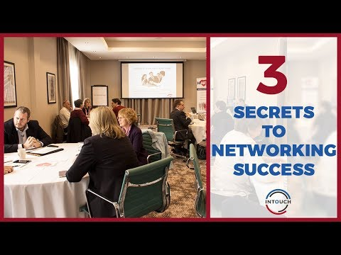 3 Simple Secrets For Networking Success