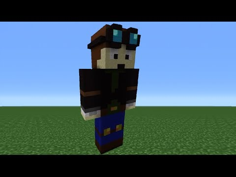 Minecraft 360: How To Make A TheDiamondMinecart Statue