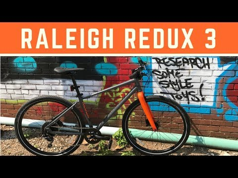 2018 Raleigh Redux 3 Urban Street Bike - Overview and first look