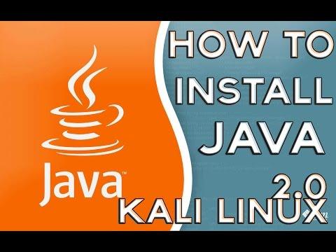 Kali Linux 2.0 Tutorials : How to install Java