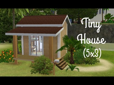 Sims 3 House Building - Tiny House 5x3