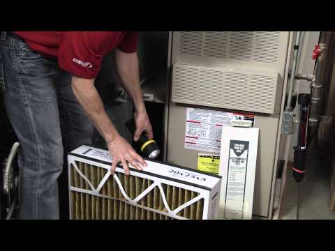 How to Check and Change a Furnace Air Filter