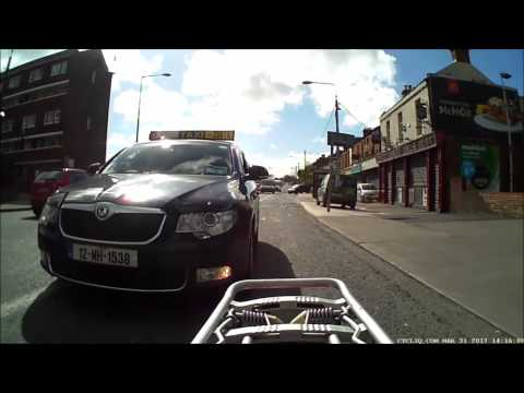 Dublin Cycling - Friendly taxi driver
