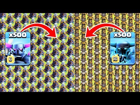 Pekka & Super Pekka VS Hidden Tesla & Mega Tesla Experiment On Clash Of Clans