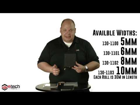 Repair Demo - Kapton Tape on Replacement iPad Mini Digitizer