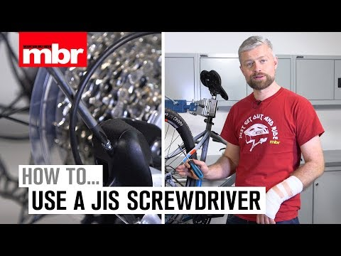 How to use JIS screwdriver | Mountain Bike Rider