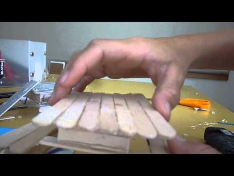 How to Make a Tech Deck Park Bench part 7