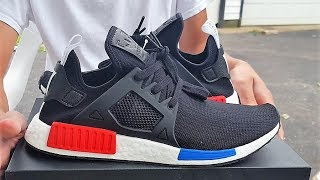 Adidas NMD XR1 Green Camo Unboxing review
