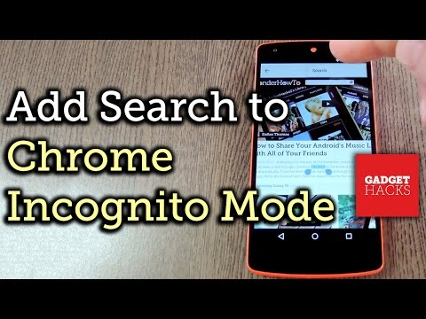 Enable Search in Incognito Mode for Chrome Browser on Android [How-To]