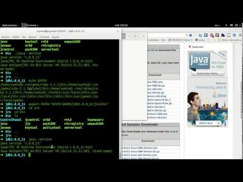 Como instalar Java (jdk y jre) en Ubuntu/Debian (Gnu/Linux)