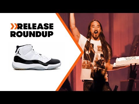 Steve Aoki Cakes Our Intern + Air Jordan 11 Concords Returning | Release Roundup