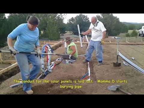 11 Installing Under slab Conduit and Finishing Rebar
