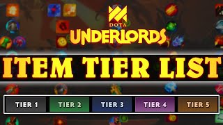 Swim's NEW Item Tier List For Dota Underlords | Game Guides #16