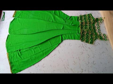 Anarkali dress stiching video