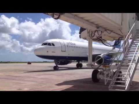 Jetblue arriving in Aruba