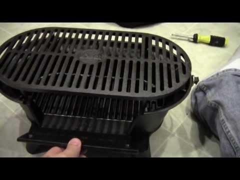 Lodge Cast Iron Sportsman Grill Unboxing
