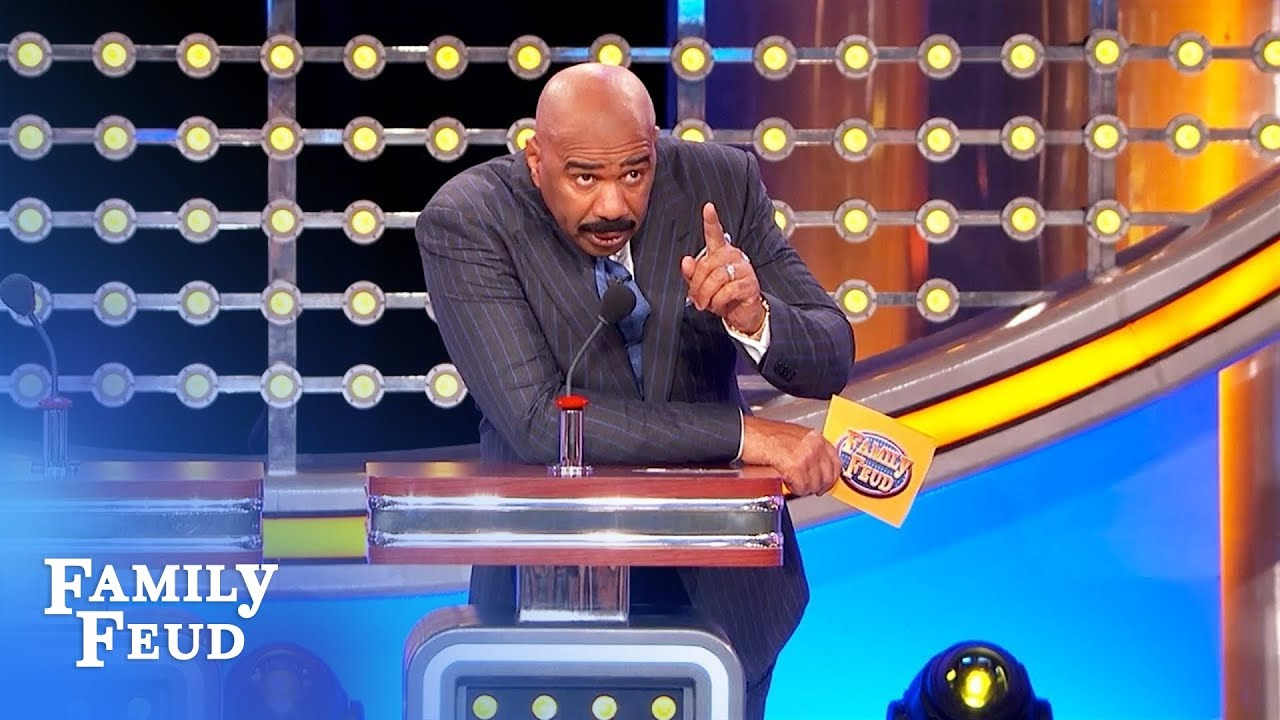 """Steve Harvey threatens Feud producers! """"You're gonna pay for that!""""   Family Feud"""
