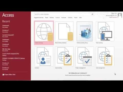 How to Build Movie Collection Databse Using Microsoft Access