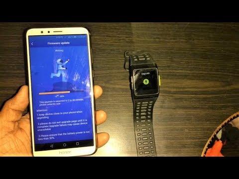How to Update iwownfit Smart Watch & Smart Band (i5,P1,i7,i6)