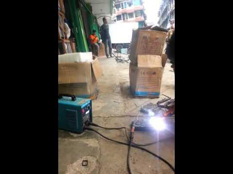 CNR ARC V MOS 160   WELDING MACHINE DEMO